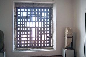 A janela por onde Sóror Mariana Alcoforado falou com o nobre oficial francês Marquês de Chamilly.